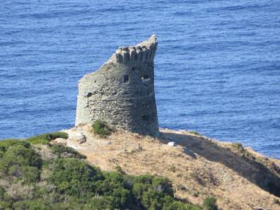 Genoese tower on Cap Corse. Corsica provides me with endless inspiration