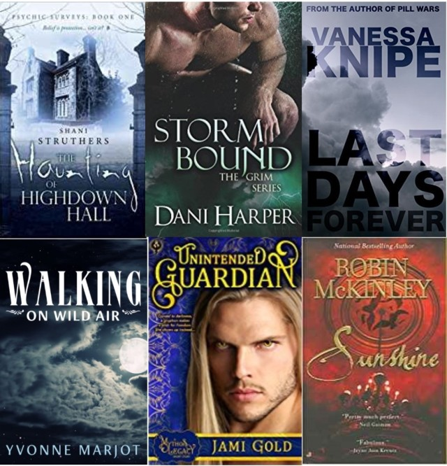 090717 paranormal summer reading covers